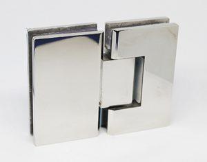 Bisagra doble 180º acero inox 50,00€ ud.