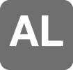Perfil aluminio cromo alto brillo